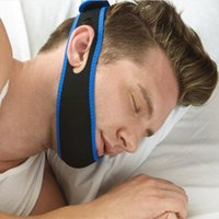 Wholesale 2016 Stop Snorin Anti Snore Strap Apparatus with Anti snore Chin Strap Stop Snoring Belt Anti Snoring Chin Jaw Supporter