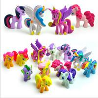 Wholesale My Little Pony Action Figures Cartoon Friendship Is Magic Cute PVC Cartoon Toys Action Figures set