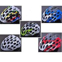 adult bmx bike helmet - Bicycle Accessories Bicycle Helmet BMX MTB Road Bike Helmet Cycling Safety Honeycomb Shape Adult Bicycle Helmet Holes Colors