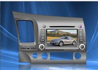 Wholesale Special Car DVD Player For Honda Civic Left right driving With GPS IPOD Bluetooth Steering Wheel Co