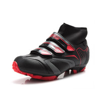 Wholesale Men s Moutain professional cycling shoes man winter bicycle boots MTB Racing Shoes SPD Athletic Shoes Bicycle MTB bike shoe