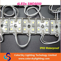 Wholesale DC12V LEDs SMD5050 mm mm IP65 Waterproof LED Module for LED sign channel letter White Color Only
