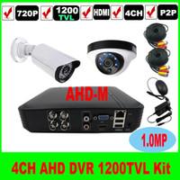 Wholesale 4CH H CCTV DVR NVR Recorder P2P iCloud CCTV DVR P tvl camera indoor outdoor video surveillance