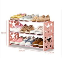 Wholesale 2016 Multilayer creative star simple combination dustproof contracted receive shoe shoe rack bracket structure Exempt postage