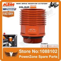 Wholesale KTM Billet Rear Brake Reservoir Extender Cooler Orange Fit BREMBO Bake KTM XC EXC SX SXF order lt no track