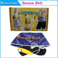 Wholesale New Arrival Sauna Heating Slimming Belt V V Far Infrared Umbilical Therapy Belt for Quick Weight loss Calorie Burn Retail Box