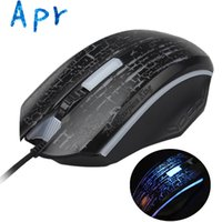Cheap Wholesale-AliPartner 1600DPI 7 Color LED Optical Wired Gaming Mice Mouse for Laptop PC best selling
