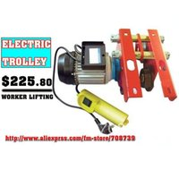 Wholesale T Electric Trolley used WITH Electric Hoist on I Beam