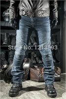 Wholesale KOMINE Mens Jeans Motorcycle jeans prevention injured Pants Racing trousers jean