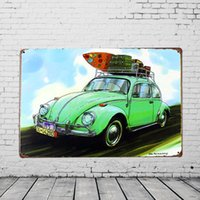 antique advertising posters - quot Antique cars quot Advertising Tin Plaques X30CM Metal Plate Vintage Tin Signs Bar Club Garage Gallery Home Wall Decor Poster