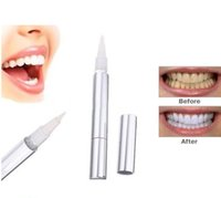 Wholesale Biggest promotion high STRENGTH BLEACHING TEETH WHITENING TOOTH WHITENER GEL PEN STRONG Dental gold Teeth Whitening Pen Drop Shipping