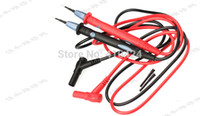 Wholesale Thin spiculate steel needle v A Multimeter Test Lead Probe Wire Pen Cable order lt no track