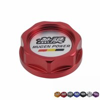 aluminium oil tank - Racing Mugen Aluminium Oil cap Fuel Tank Cap Cover for honda