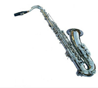 Wholesale 2015 Hot Promoting High Grade Performance Saxophone Nickel plating Saxophone Tenor Saxophone with of free fittings