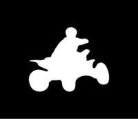 atv racing stickers - Car Stickers Quad Vinyl Decal Car Window Sticker Atv Racing Racer Ama Race