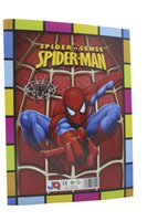 abc activities - ABC activity drawing colouring stickers book set super heroes spiderman educational interactive paper puzzle game toy