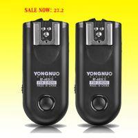Wholesale 2015 Shutter Release Yongnuo RF II Flash Trigger Transceivers Set for Canon Nikon Pentax DSLR Camera