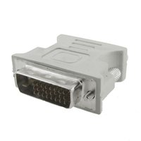 Cheap DVI-D VGA Male to VGA Female Adapter Converter Connector For LCD HDTV HB88