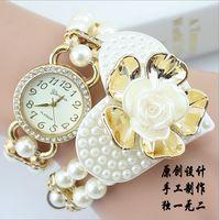 amazing wrist watch - Hot sales New Style Luxurious amazing Personalized pearlWomen Wrist watches For Gift quartz Women link Bracelet Watch For Casual dress