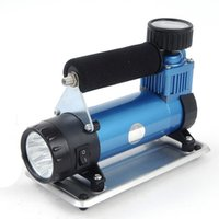 air cylinder tube - Car unit metal single cylinder car air pump portable inflatable tube yd