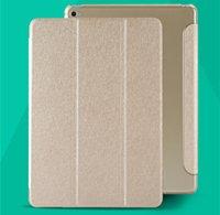 Wholesale For ipad air Folding Smart Case Cover transparent PC Back Hard For Apple ipad air air2 ipad mini smart Function sleep wake up