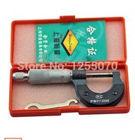 Wholesale 0 outside micrometer caliper micrometer thickness leather paper order lt no track