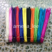 Wholesale inch cm Dyed DIY Hair Decoration Extension Pheasant Tail Feather for Party Wedding Table Decor