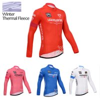 Wholesale 2014 Tour de italia cycling jersey Winter Thermal Fleece Ropa Ciclismo Mountain Bike MTB Long Sleeve Jersey clothing Hot sale