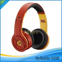 syllable wireless bluetooth headphones - Syllable G08 Noise cancelling wireless bluetooth DJ Over Ear Headphones VS Bluetooth Wireless headphone Attire