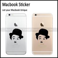 Cheap Wholesale-Charles Chaplin Mobile Phone Decal for Apple iPhone 6   6 Plus   5s Sticker Vinyl, Cellphone Skin Adesivo Pegatina Para Phone