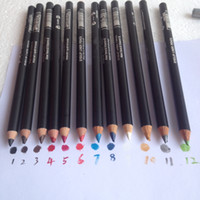 Wholesale 12pcs NEW makeup new white Eye Shadow Liner Combination pencil waterproof g colours you can choose