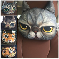 Wholesale Top Qualtiy New Nordic Chair Pillow Personality Car Cushion Creative Handsome Cat Shape Pillow Cute Seat Cushion