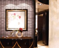 bathroom tile materials - Metal mosaic tile for wall floorings buidling material for home garden shop bar bathroom kitchenroom backsplash wall mounted pattern tiles