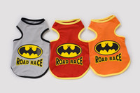 Coats, Jackets & Outerwears batman dog shirt - 2015 Summer Pet Dog Clothes Small Dog Batman Vest Doggie Vest Bichons Chihuahua Teddy Pure Cotton Clothes Small Dog Clothing