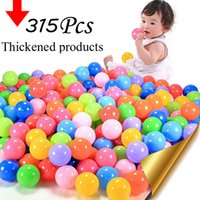 baby stress - Eco Friend Colorful Soft Plastic Water Pool Ocean Wave Ball Baby Funny Toys stress ball outdoor fun sports plastic pit balls