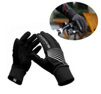 Wholesale Outdoor Winter Black Warm Cycling Full Finger Gloves Bike Windproof M XXL