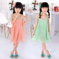 baby dressers - new summer baby girl dress children clothing chiffon casual kids dresser