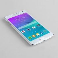 Wholesale Real Note4 MTK6572 Android Dual core inch Smart Phone ROM G RAM G IPS Screen Metal Side Health G Cellphone