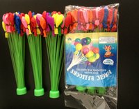 bubble toy - Bunch Balloons Colorful Magic Water Balloons Frozen Water Balloons in Bunch children water game toys Water bomb Water Bombs Fill Per M