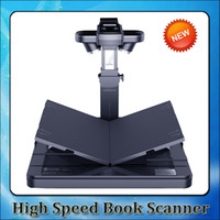 Wholesale 2015 New Changer High Speed A4 Book Scanner with pages minute document scanner A4 Paper Scanner Scan with M HD Cameras