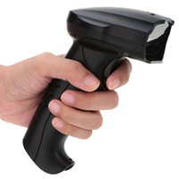 barcode scan guns - 2 G Wireless USB Wired Barcode Scanner Handheld Bar Code Scanning Decoder Reader Gun High Speed mAh for Supermarket etc DHL C2676