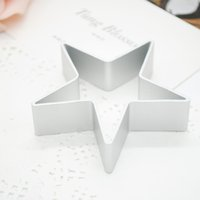 Wholesale 1Pcs Star Shape Biscuit Cookie Pastry Cake Decorating Cutter Craft Metal Mold Kitchen Tools Y50 JJ0223 M5