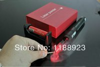 Wholesale Best new2014 laserRed green mw laser pointers w laser pen burn black match with gift box charger battery
