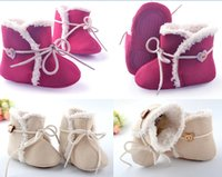 Wholesale Drop shipping Infant snow boots fuzzy toddler shoes fashion baby shoes warm walker shoes winter kids shoes unisex snow shoes pairs L