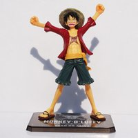 Wholesale Anime Cartoon One Piece New World Luffy Action Figures PVC Tos Doll Model Collection