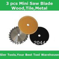 blade saw blade - 3pcs mmMini Saw Use Blade Wood Meta Tile Saw