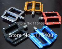 Cheap Wholesale-TaiWan SYUN Advanced Aluminum alloy Mountain Bikes Road Bicycles pedal Non-slip Anodic oxidation treatment free shipping