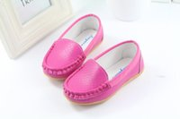 moccasin shoes - child princess baby shoes girl child Moccasins candy color soft outsole toddler baby single shoes slip resistant new fashion