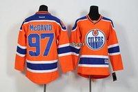 best quarters - 2016 Newest Youth Edmonton Oilers mcdavid orange Kids Ice Hockey Jerseys Best Quality Low Price