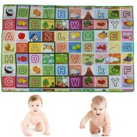 Wholesale Kids Baby Educational ALphabet Game Play Mat x120cm Children Floor Crawl Learning Home Outdoor Rug Hot